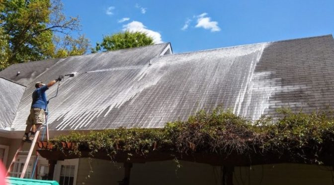 Soft Roof Wash VS PRessure Wash